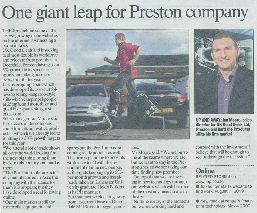 Lancashire Evening Post Feature
